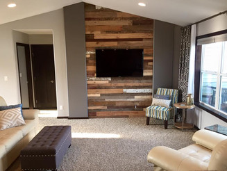 Project: Reclaimed Wood Wall