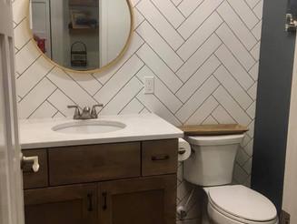 Bathroom, Laundry Room, and Foyer
