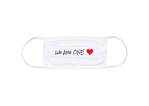 """WE ARE ONE"" Face Mask"