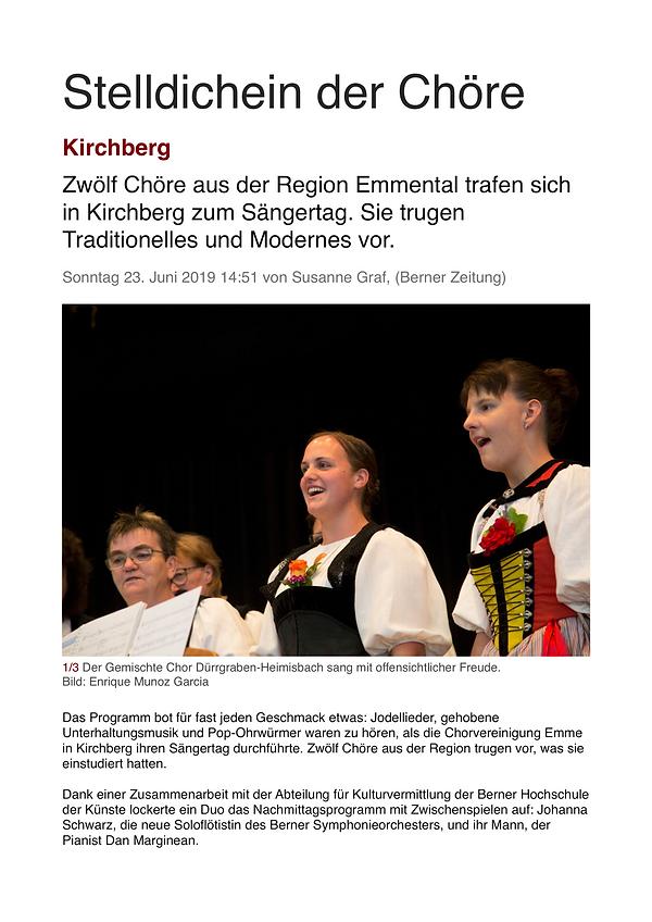 Artikel_Sängertag_Kirchberg_2019_BZ_Onli