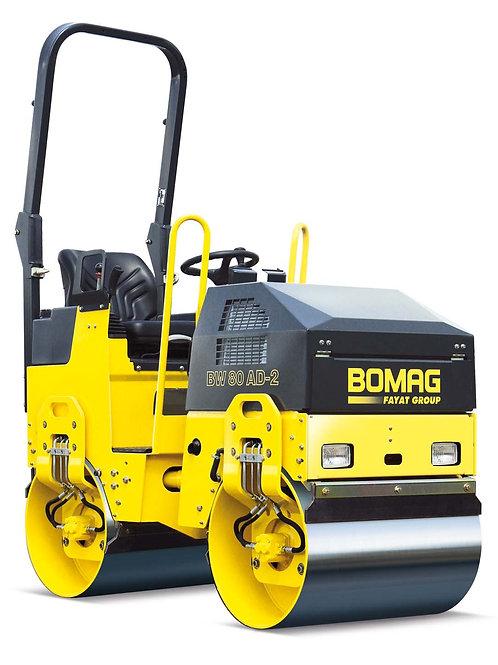 Каток тандемный BOMAG BW80AD-2 масса 1,47 т