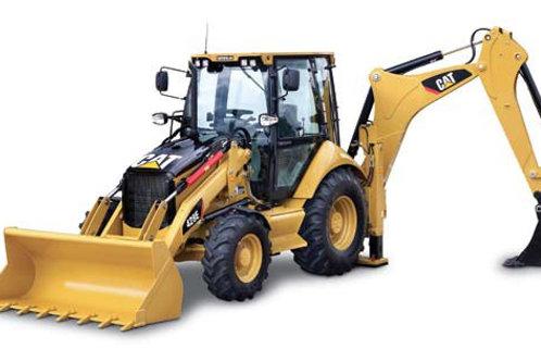 Экскаватор-погрузчик CAT 428E ковш экскаватора 0,4 м куб., ковш погруз. 1 м куб.