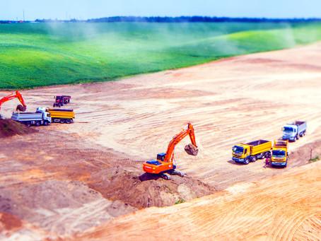 Более 170 000 тонн перемещенного грунта