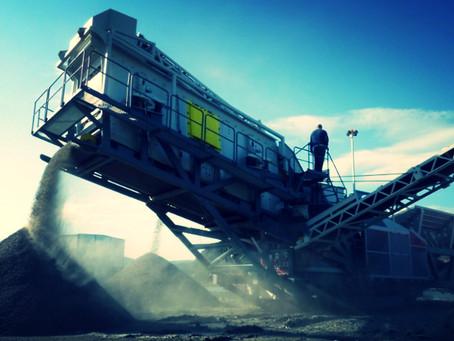 Мобильный завод по производству щебня в 300 тонн в час