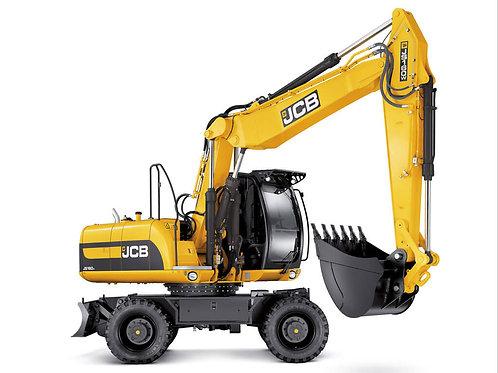 Колесный экскаватор JCB 160W ковш 1 м куб.
