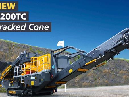 Новая конусная дробилка TESAB 1200TC