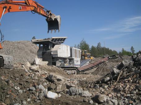Бетонные отходы после демонтажа. Что с ними делать?