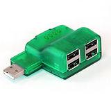 Grün USB-Hub
