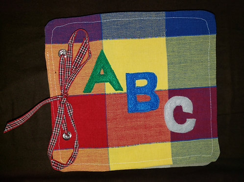 ABC Cloth FLAT Learning Book