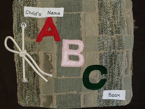 ABC Cloth TACTICLE  Learning Book