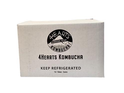 12-Can Case of Kombucha
