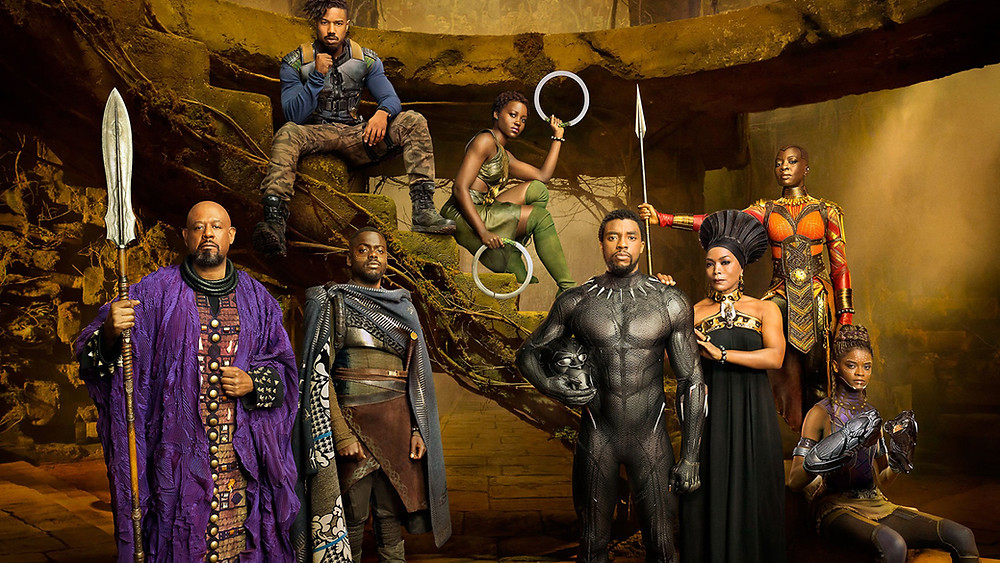 Marvel Studios' BLACK PANTHER cast photographed exclusively for Entertainment Weekly by Kwaku Alston on March 18, 2017 in Atlanta, Georgia.