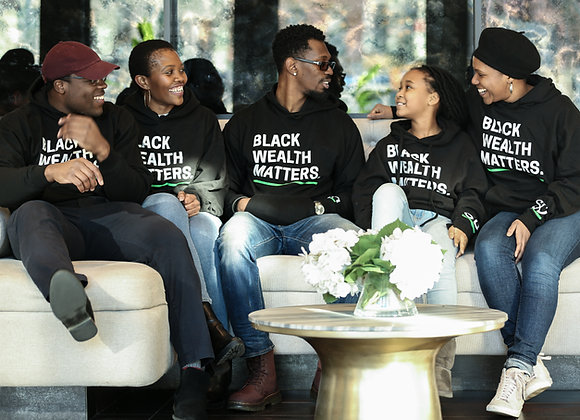 Black Wealth Matters Pullover