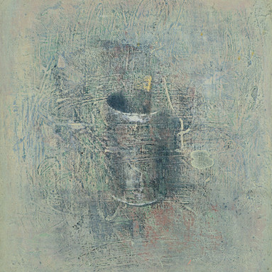 Pot and paintbrush No. 1