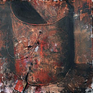 Bucket and paintbrush