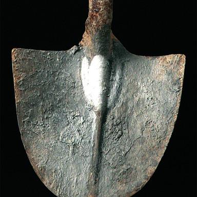 Spade with tulip No. 2