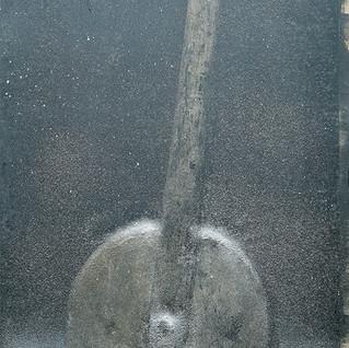 Wheel on snow