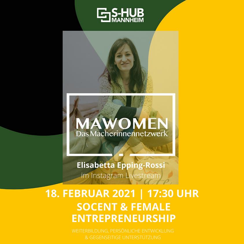 SocEnt & Female Entrepreneurship mit Elisabetta Epping-Rossi