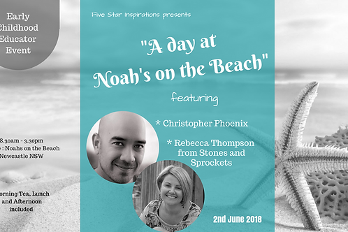 A dayat Noah's on the Beach Early Childhood Educator Event