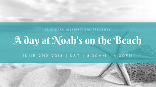 "Five Star Inspirations presents ""A Day at Noah's on the Beach"" Early Childhood Event"