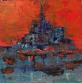 Mont Saint Michel Pop Art .40x40 cms Acr
