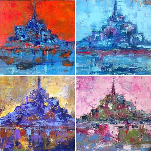 Variations Mont Saint Michel
