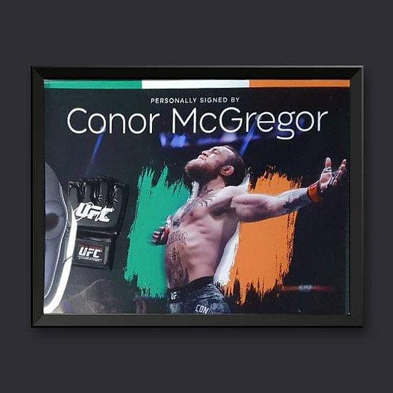 Conor Mcgregor Signed UFC Mit Framed