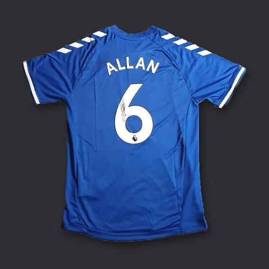 Allan Everton Signed Shirt 20/21
