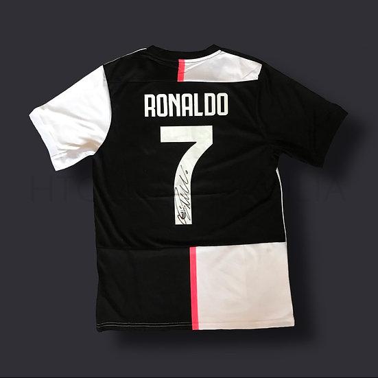 Cristiano Ronaldo Juventus Signed Shirt 19/20