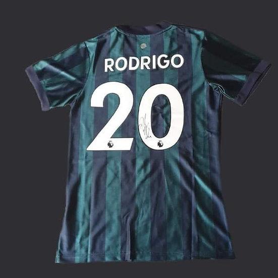 Rodrigo Signed 20/21 Leeds United Shirt