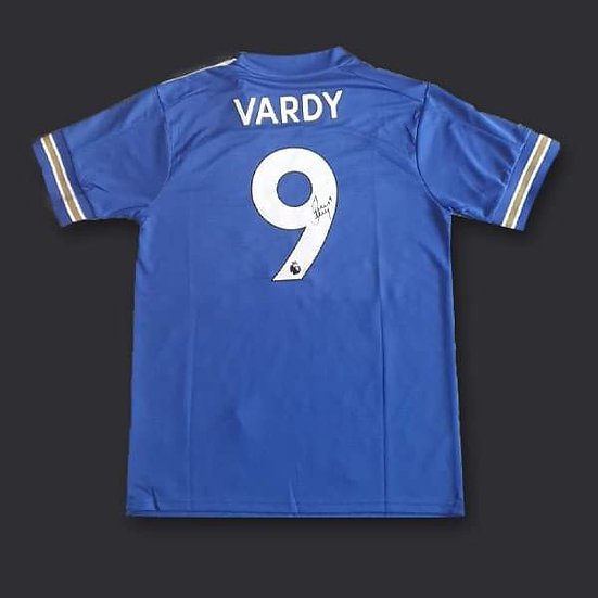 Jamie Vardy Signed Leicester City 20/21 Shirt