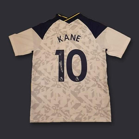 Harry Kane Signed Tottenham Hotspur 20/21 Shirt