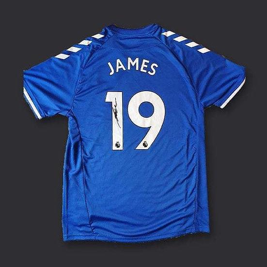 James Rodríguez Everton Signed Shirt 20/21