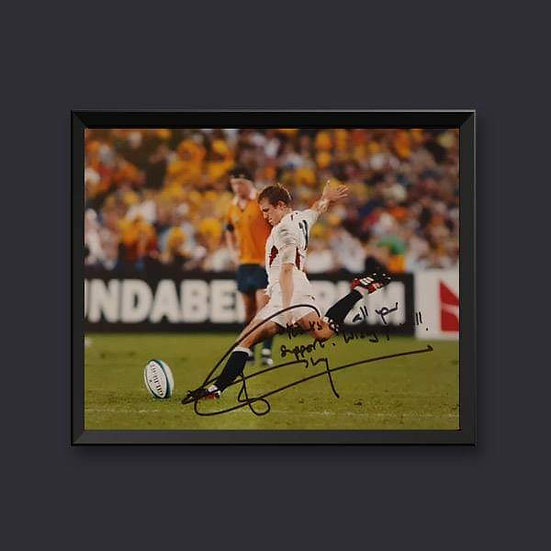 Jonny Wilkinson England Rugby Signed Picture