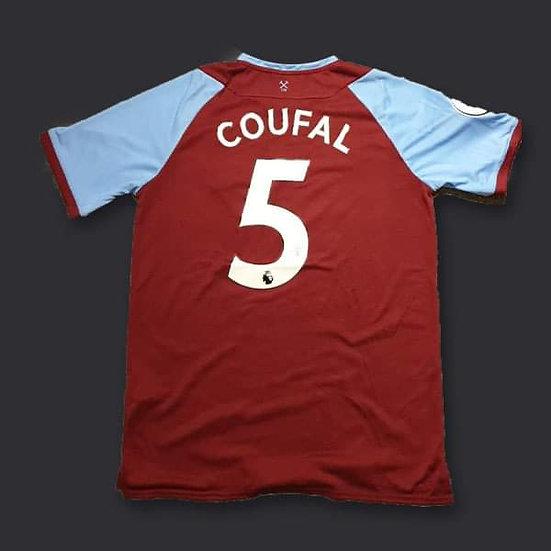 Vladimír Coufal Signed West Ham 20/21 Shirt