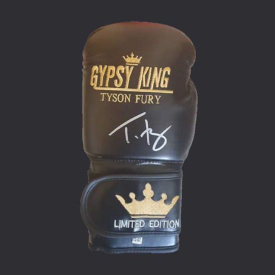 Tyson Fury Signed Limited Edition Boxing Glove