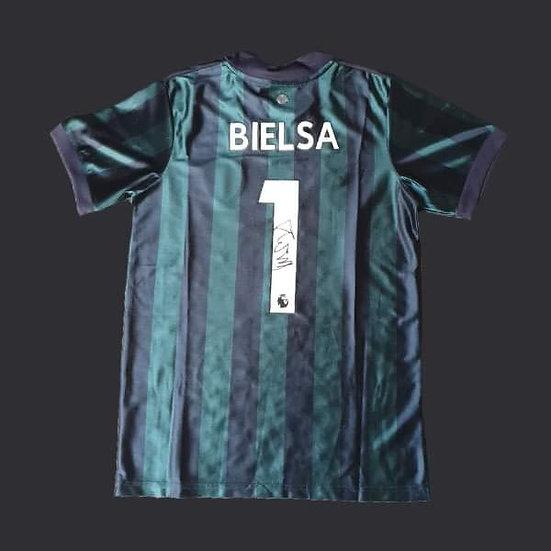 Marcelo Bielsa Signed 20/21 Leeds United Shirt