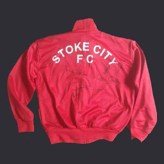 Stoke City Loose Squad Jacket 1972 Final