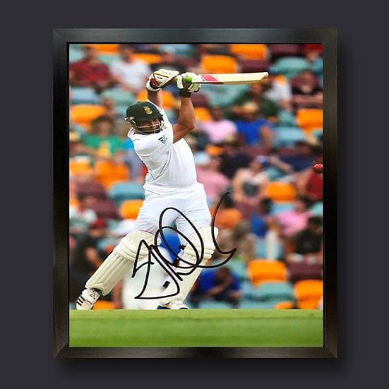 Jacques Kallis Signed South Africa Cricket Picture
