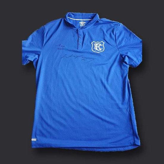 Wayne Rooney Everton Signed Shirt