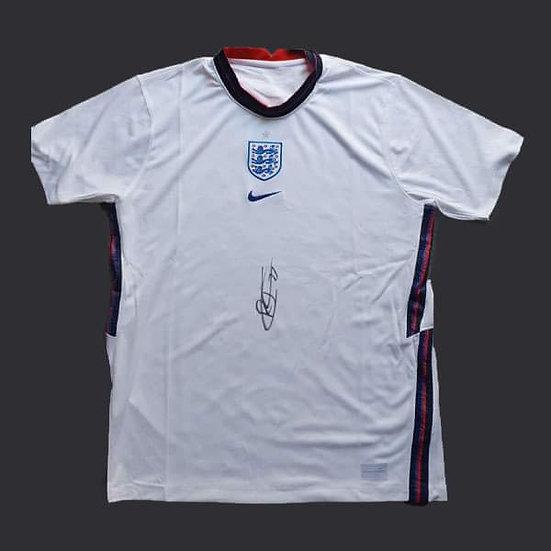 Reece James Signed 2020 England Shirt