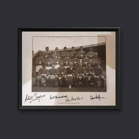 1968 Manchester United Signed picture