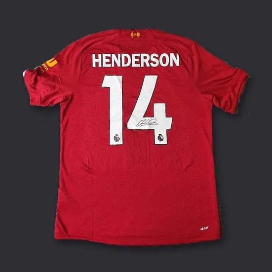 Jordan Henderson Liverpool Shirt 19/20