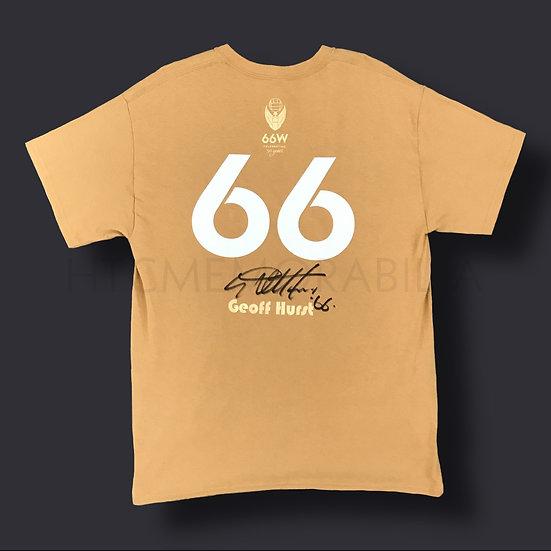 Geoff Hurst England Signed Shirt 1966 50th Anniversary