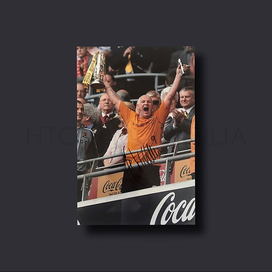Dean Windass Hull City Signed Picture