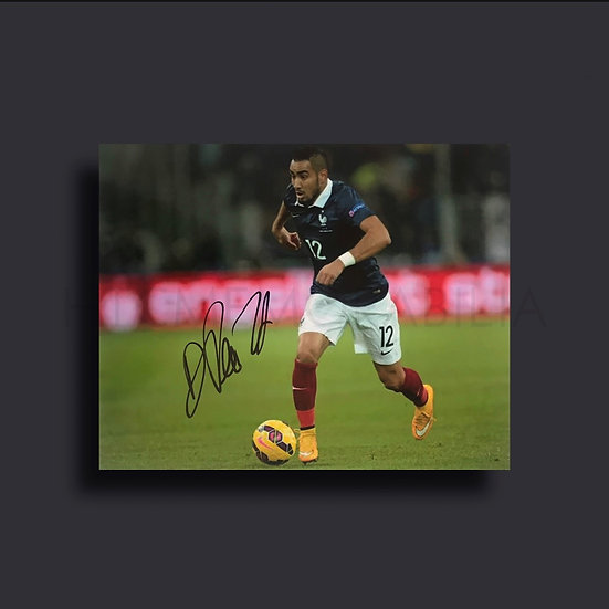 Dimitri Payet France Signed Picture