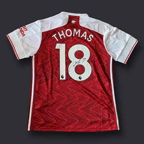 Thomas Partey Signed Arsenal 20/21 Shirt