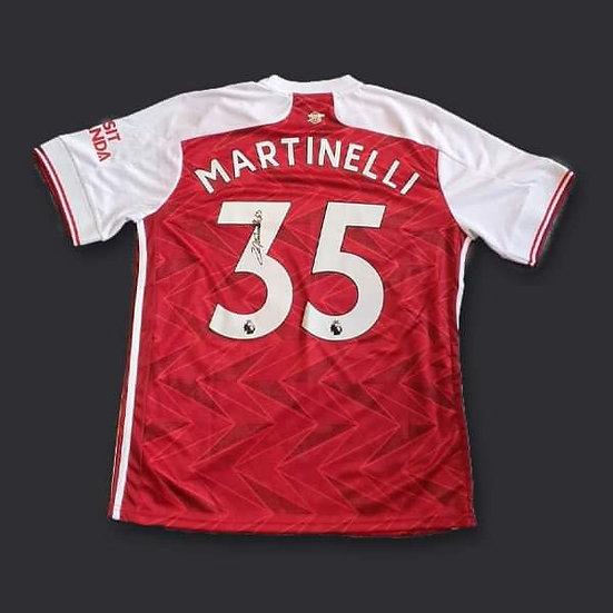 Gabriel Martinelli Signed Arsenal 20/21 Shirt