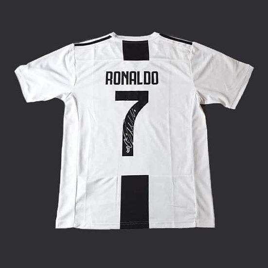 Cristiano Ronaldo Juventus Signed Shirt 18/19