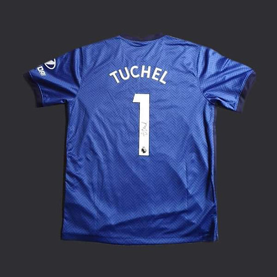 Thomas Tuchel Signed 20/21 Chelsea Shirt